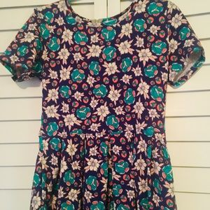 Lularoe Amelia Dress with Pockets-Size Large